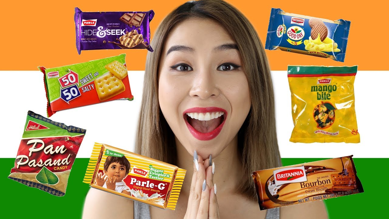 Australian Tries Indian Snacks! Tina Tries It