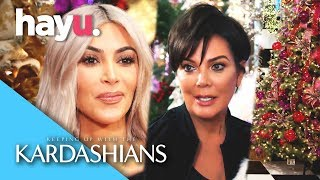 Kardashian Christmas Wars! | Keeping Up With The Kardashians