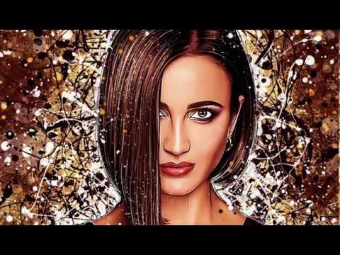 Портрет Ольги Бузовой в стиле Dream Art