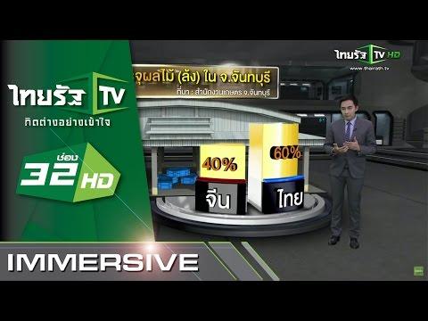 IMMERSIVE : จีนรุกตลาดซื้อขายผลไม้ไทย | 22-06-58 | ThairathTV