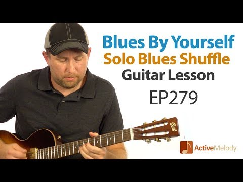 Want to play a blues shuffle  yourself on guitar? Learn how in this blues guitar lesson  EP279