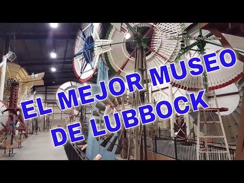 El mejor Museo de Molinos de Viento y Trenes en #Lubbock #Texas del 2020