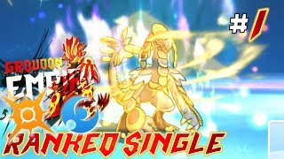 Battle Spot Single - Pokemon SUN MOON RANKED SINGLE #1 Belly Drum Kommo-o!