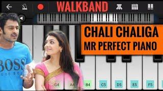 Chali Chaliga Allindi - Mr Perfect || Piano Cover || Walkband