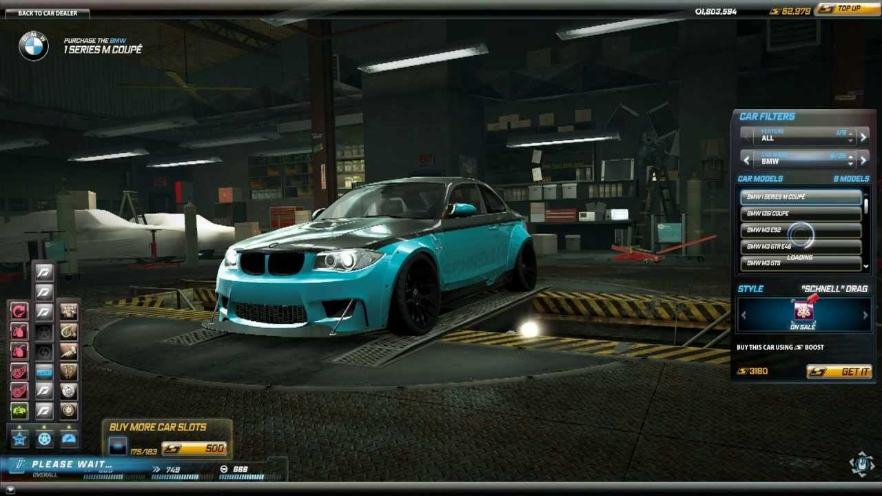 BMW 3 Series For Sale >> Need For Speed World BMW 1M 1 Series M Coupe Schnell Drag ...