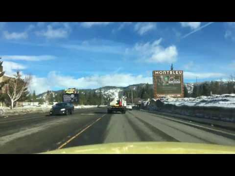 Fast South Lake Tahoe Taxi: Emerald Bay Road to Stateline, NV in 39 Seconds