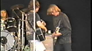 GREEN ON RED live @ Reading Festival 26 August 1989