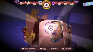 Tearaway Unfolded - Companion App & Customisation | PS4