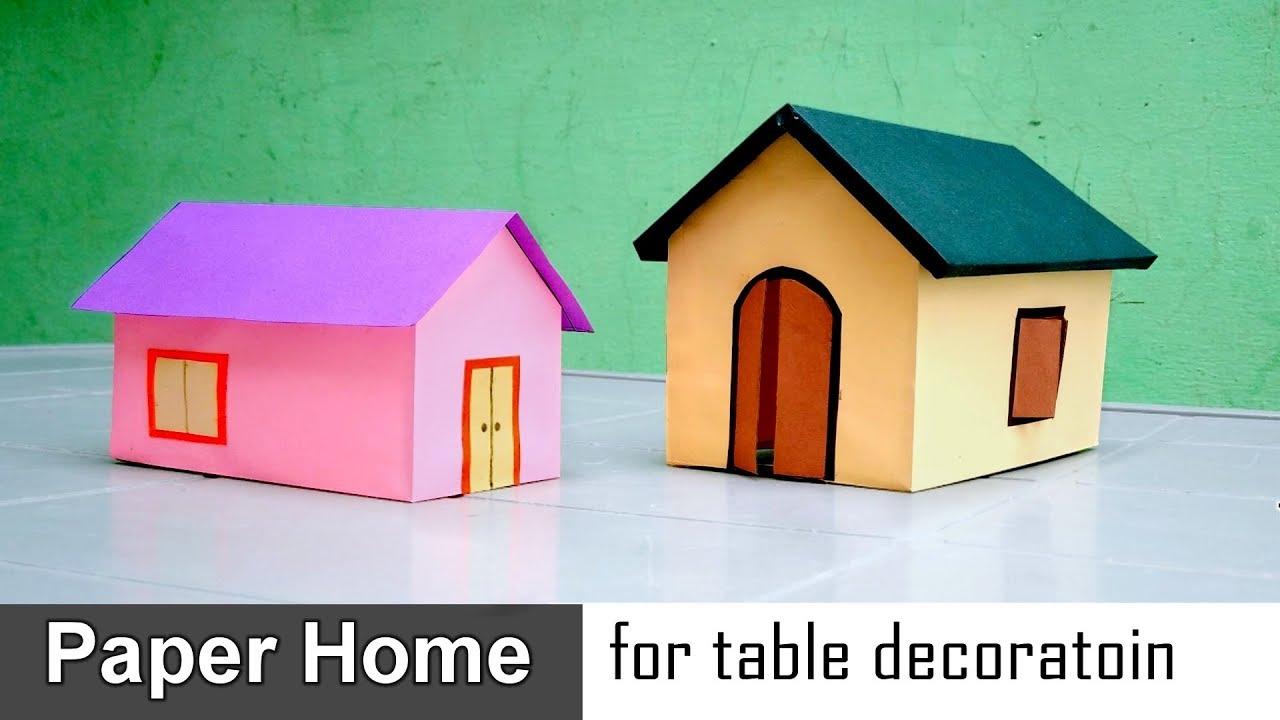 Easy Paper Home Model