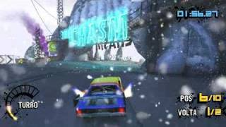 PSP Motorstorm Arctic Edge Gameplay