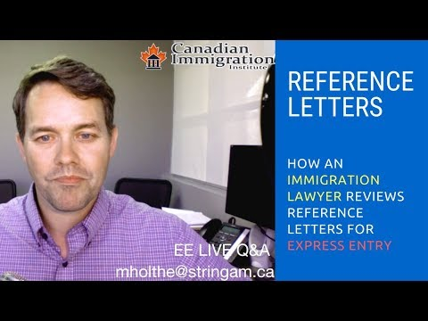 Express Entry - How To Know If Your Reference Letter Works!