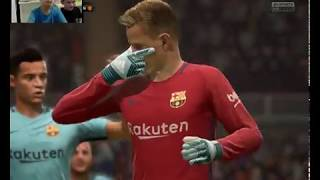 ברצלונה נגד מנצ'סטר יונייטד fifa 18