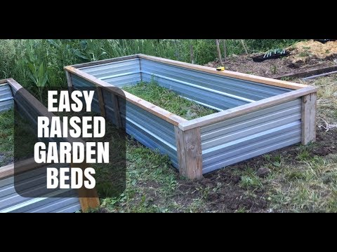 Easy D.I.Y. Raised Garden Beds