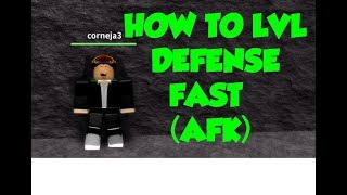 One Piece Pirates Wrath | How To lvl Defense Fast (AFK) | ROBLOX