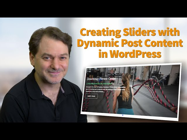 How to create custom sliders for WordPress using Toolset and no coding