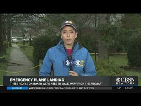 Emergency Landing In Valley Stream