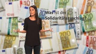 #kurzerklärt: Was ist der Solidaritätszuschlag?