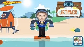 The Thundermans: Aqua Jetpack - Hovering Above Water Is Not Easy (Nickelodeon Games)
