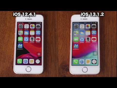 IOS 12.4.1 Vs IOS 13.1.2 Speed Test On Iphone Se | ISuperTech