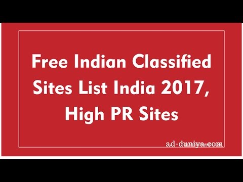 top 10 free classifieds sites in india | free classifieds sites in india - ad-duniya.com