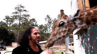 """""""Woken"""" Matt Hardy consults with George Washington: Exclusive, March 17, 2018"""