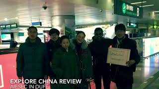 【AIESEC in DUFE】Explore China-Marketing Tourism Review