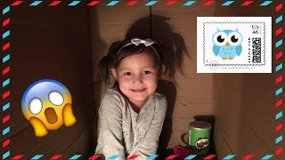 I Mailed Myself to EMILY TUBE & CREATIVE CELESTE!! 4 Year Old mails herself to another YOUTUBER