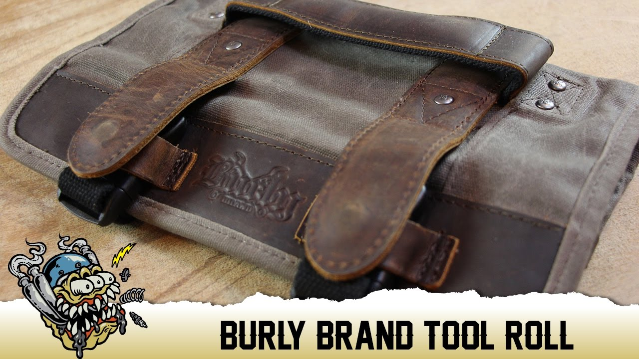 Burly Brand Motorcycle Tool Roll Overview Deadbeatcustoms