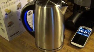 Cuisinart PerfecTemp Electric Kettle Review & Boil Test
