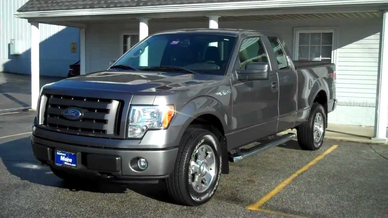 Best priced used 2010 ford f150 stx pick up truck southern for Southern maine motors saco maine