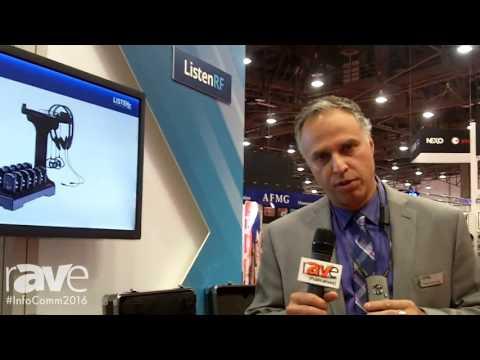 InfoComm 2016: Listen Technologies Reveals ListenRF Receivers