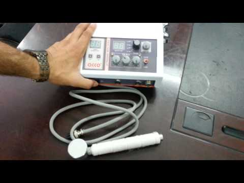 AMP-03CM04 Physiotherapy acco Combination unit of Tens and Ultrasound therapy