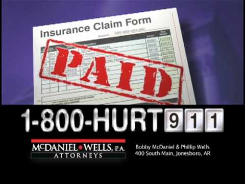 McDaniel & Wells, P.A. - Personal Injury Attorneys - 15 sec. commercial