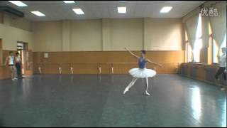 Beijing Dance Academy Ballet Performance class part 3