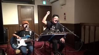 Not My Daughter (Shige (ex: choke sleeper) with Yukari) KAMINARI Music School Christmas party @KAMINARI guitars Yokohama. 横浜中華街、カミナリ ...