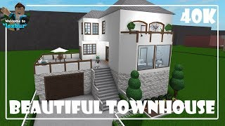 Roblox | Beautiful TownHouse (40k) | Bloxburg