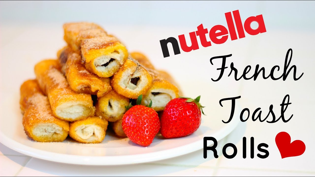 nutella rolls recept