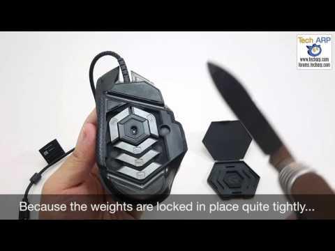 Logitech G502 Proteus Spectrum Weight Tuning System