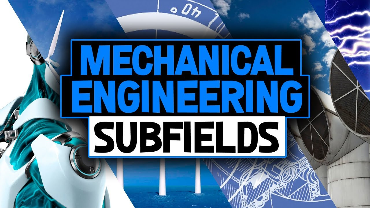 Mechanical Engineering Subfields and Senior Project Examples