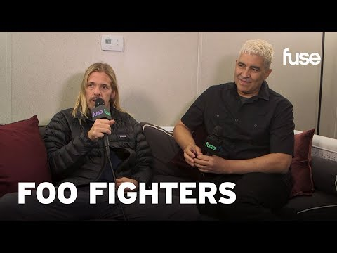 Foo Fighters' Taylor Hawkins and Pat Smear On The State of Rock | Voodoo 2017