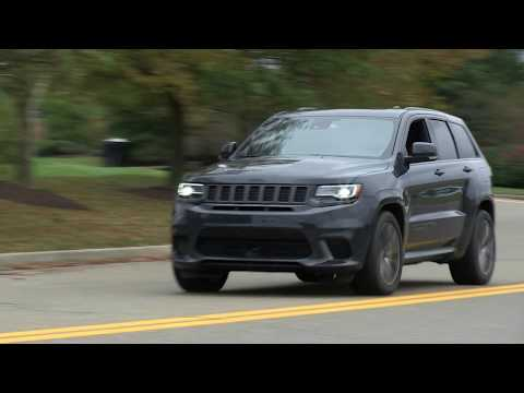 Jeep TrackHawk overview from the Washington Automotive Press Association event 2017