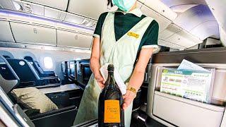 11 ساعة في أفضل درجة رجال الأعمال في آسيا إيفا للطيران   فيينا - تايبيه   بوينج 787-9   مراجعة
