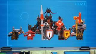 LEGO® NEXO KNIGHTS™ - 70323 Wulkaniczna kryjówka Jestro