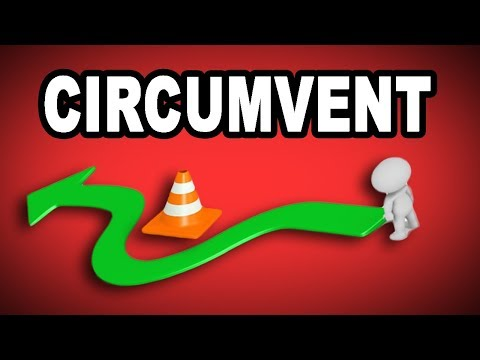 Learn English Words: CIRCUMVENT - Meaning, Vocabulary with Pictures and Examples