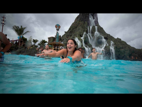 Wave Village & Waturi Beach relaxing oasis at Volcano Bay, Universal Orlando