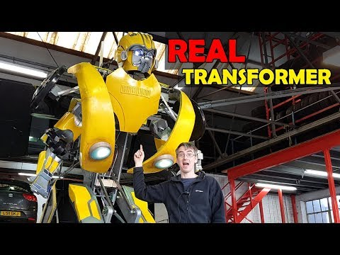 Building Bumblebee the REAL TRANSFORMER #5 | James Bruton