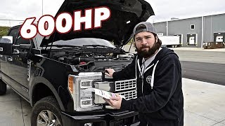 How to make 600hp in your Powerstroke with ONLY 2 MODS
