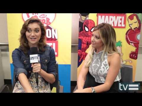 Ashley Tisdale & Alyson Stoner Interview - Phineas & Ferb Mission Marvel