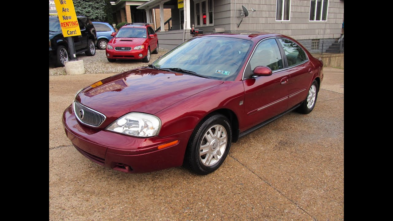 2005 Mercury Sable Ls Loaded Elite Auto Outlet Bridgeport