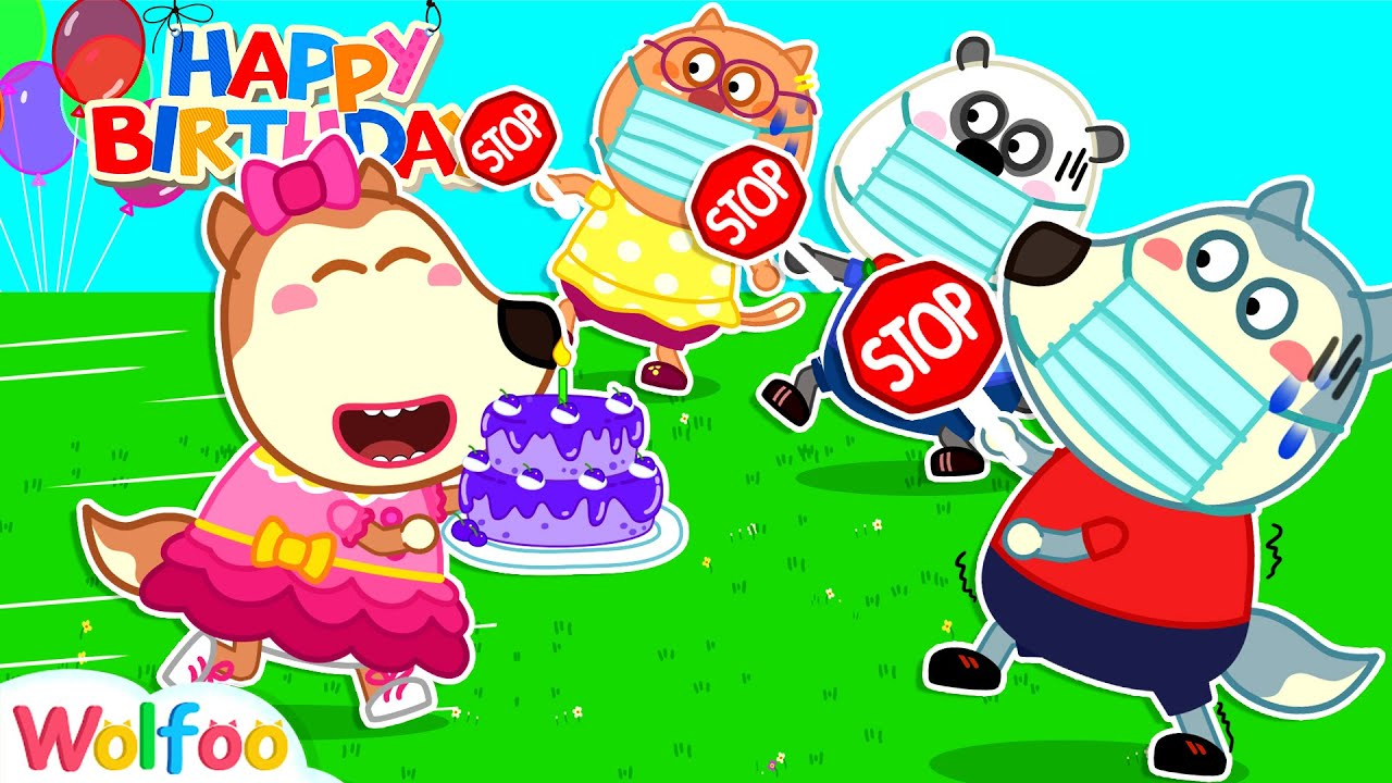 Download No No, Lucy! Wear Your Mask - Happy Birthday Surprise to Sister Wolfoo | Wolfoo Channel Kids Cartoon
